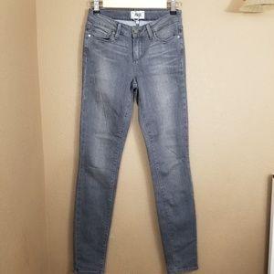 Paige || gray verdugo ultra skinny jeans